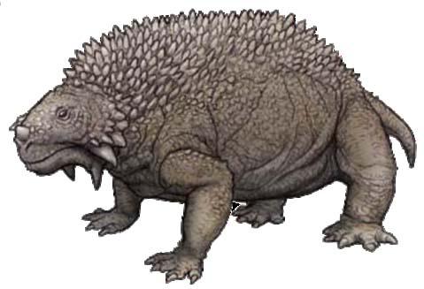 Scutosaurus - todo un escudo