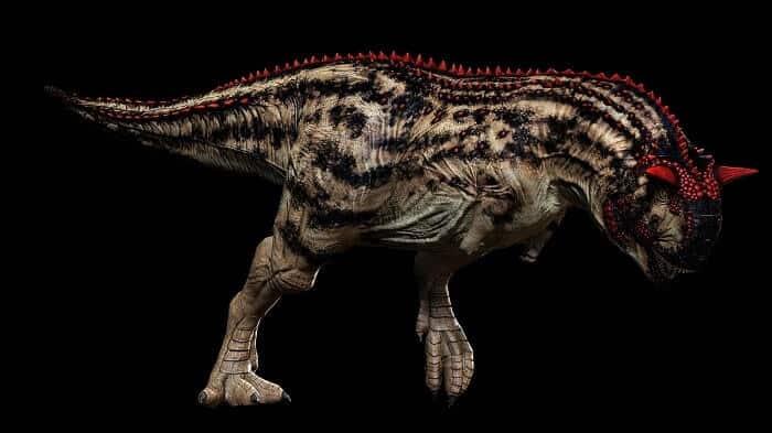 Piel del Carnotaurus