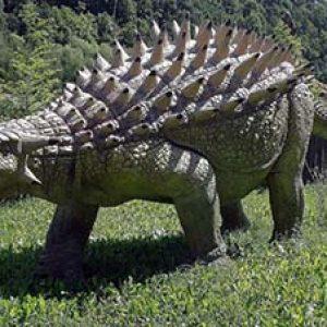 ankylosaurus – dinosaurio herbivoro
