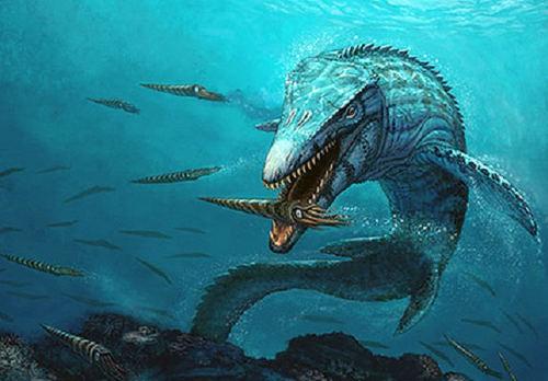 kronosaurus – dinosaurio marino