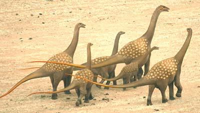 titanosaurus – dinosaurio herbivoro