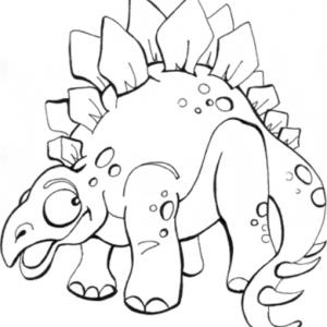 stegosaurus para imprimir